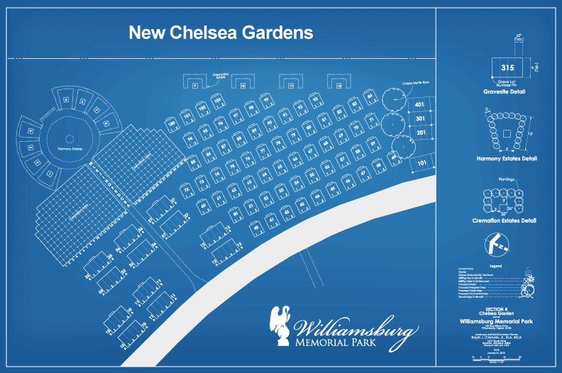 The New Chelsea Gardens Siteplan